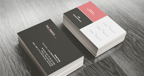How to design your own business cards first decide the information you want to give fbccfo Image collections