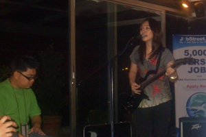 Kitchie Nadal sings to cap the night.