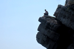 cliff jump About That Million Dollar Job
