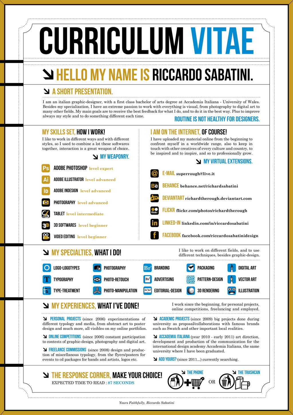 How to make an infographic resume for How to make a blueprint online