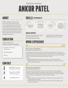 infographic resume 3 233x300 How To Make an Infographic Resume