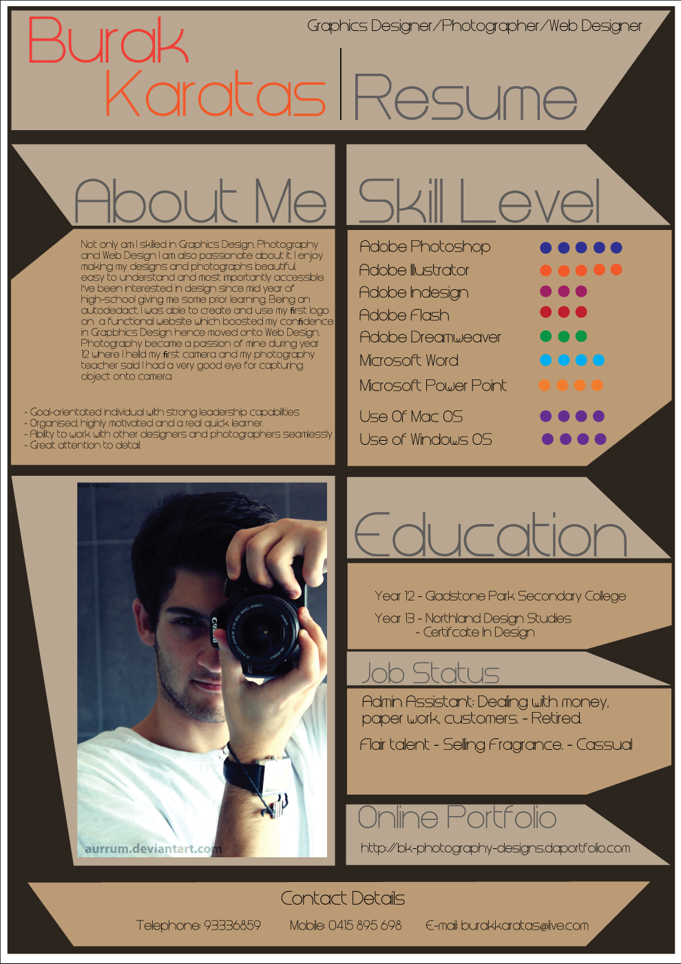 How to create an infographic resume: