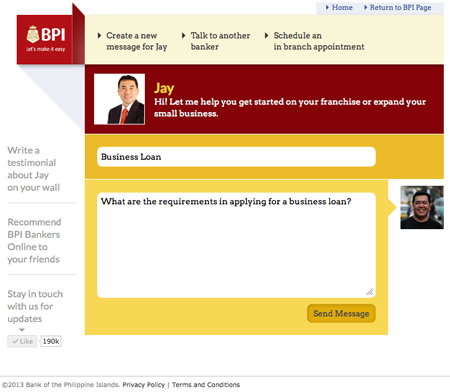 how to use bpi online banking