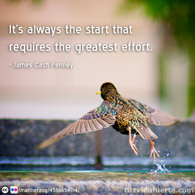 effort Inspirational Quotes #5: Zig Ziglar, Mark Amend, Farrah Gray and more