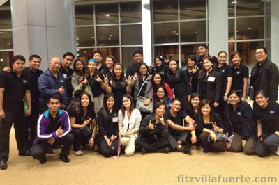 My IMG Family at the Singapore Convention