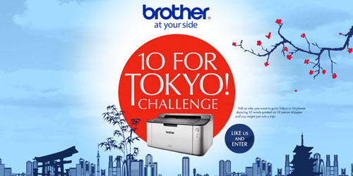 10fortokyo Brother Philippines Rolls Out HL 1110 Printer with 10 For Tokyo! Challenge