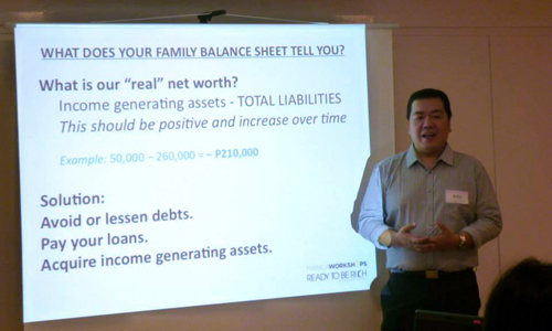 famfinphoto Seminar on Financial Planning for Parents this September