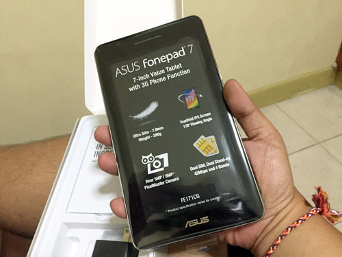 Unboxing the ASUS Fonepad 7 FE171CG