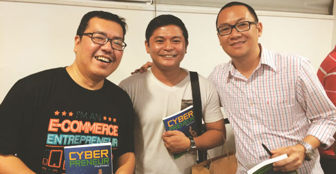 With co-authorsm RM Nisperos and Marv de Leon