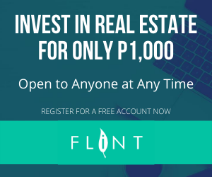 Invest in real estate for only P1,000